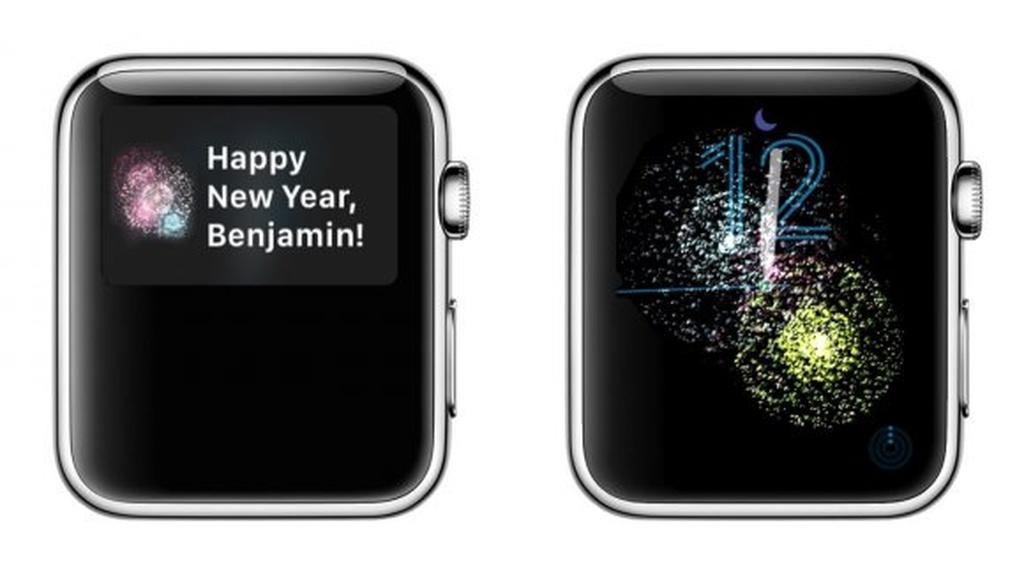 Apple Watch'dan sirli Yeni il animasiyası