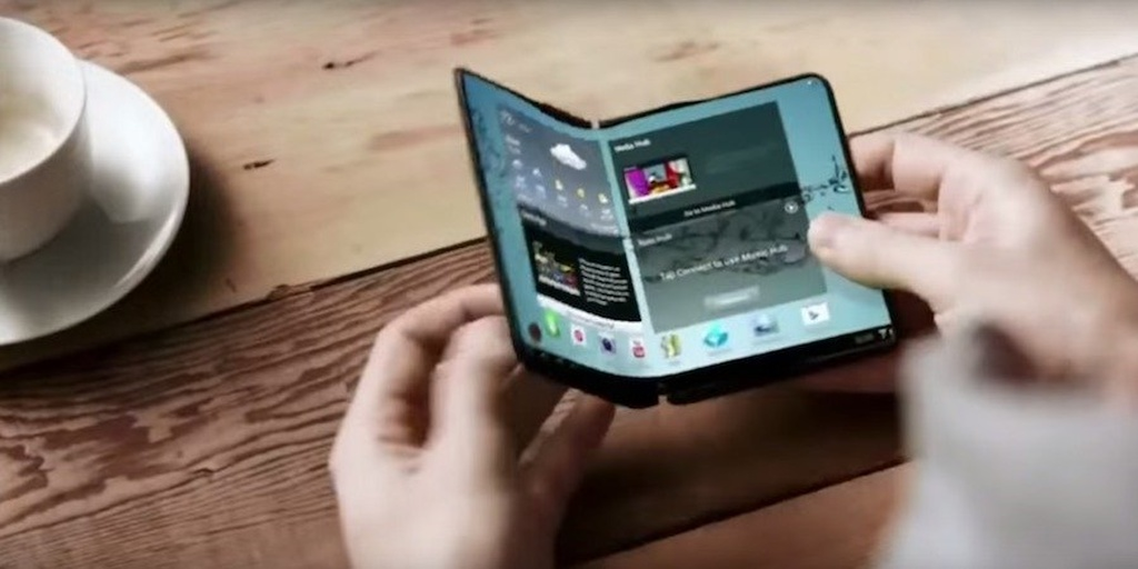 Samsung-un qatlana bilən smartfonu Galaxy X bu il bazara çıxacaq