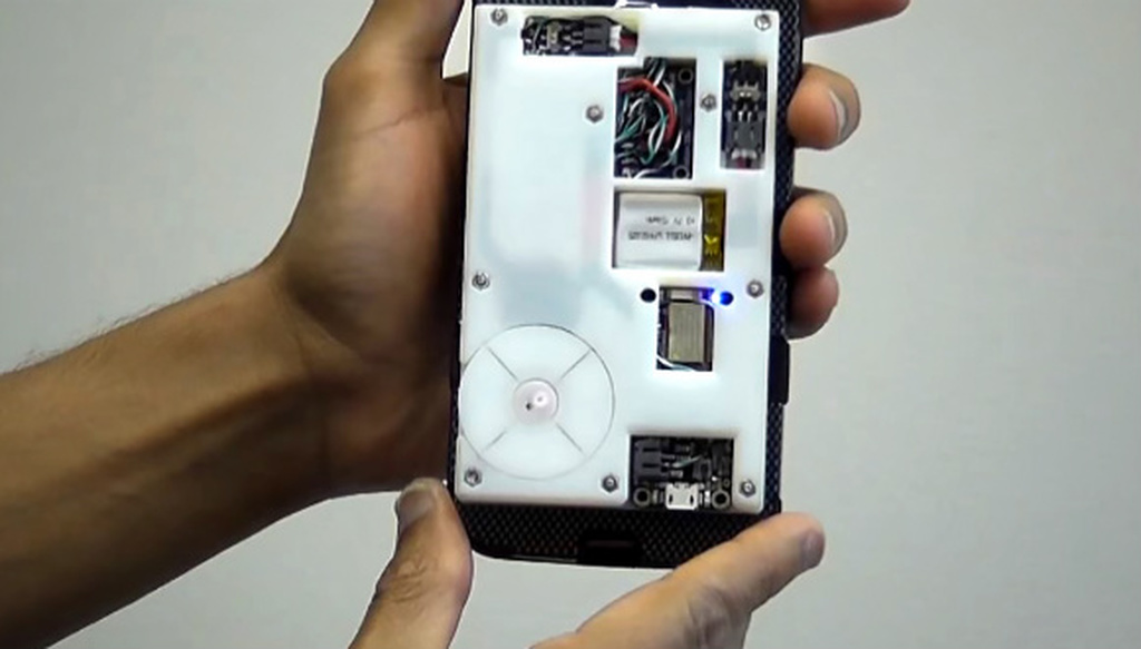 Təzyiq ölçən telefon qabı inkişaf etdirildi!
