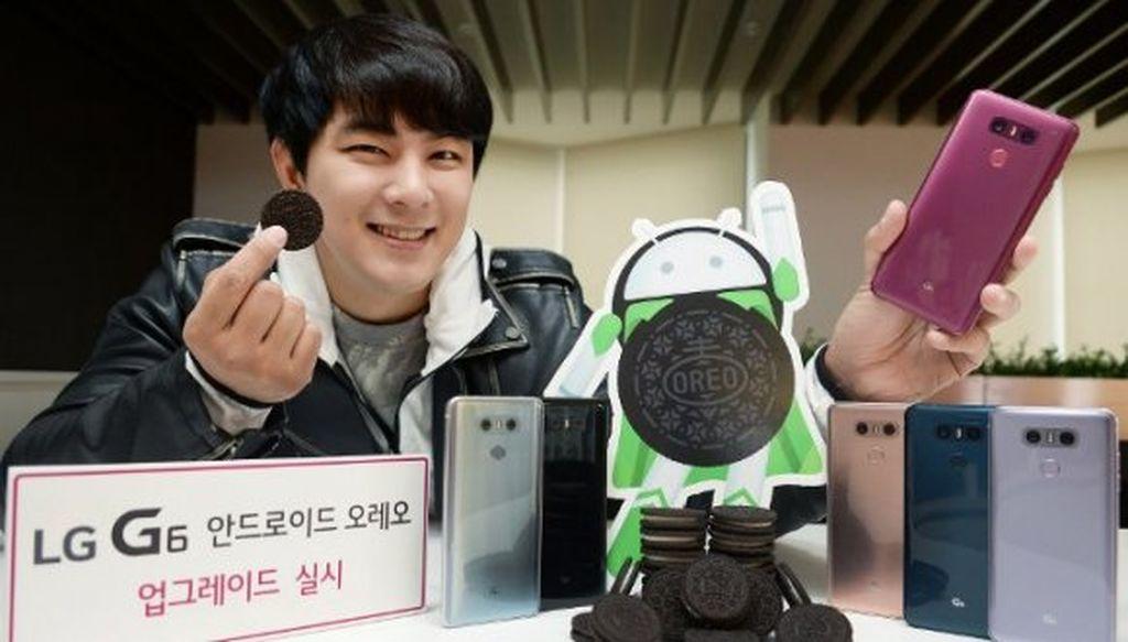 LG-dən müjdəli xəbər: G6 və bəzi digər modeller üçün Android Oreo yeniləməsi gəlir
