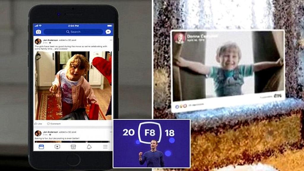 Facebookdan yenilik: 2D şəkillərinizi 3D edə biləcəksiniz!