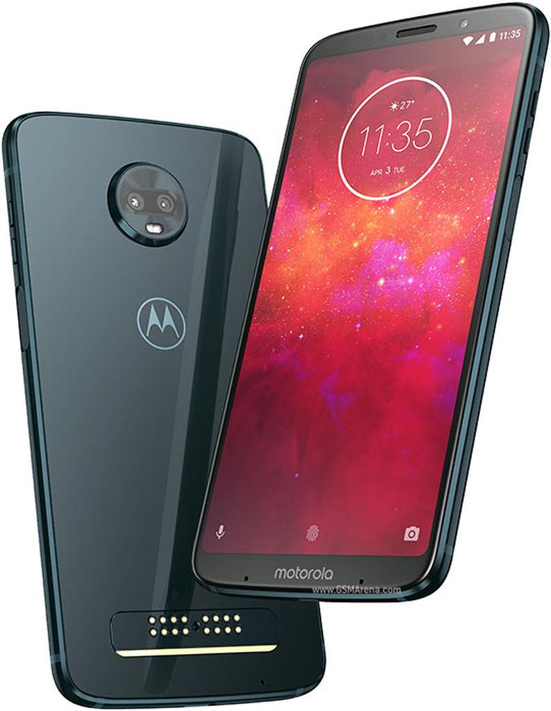 Motorola, cüt kameralı yeni ağıllı telefonu Moto Z3 play-i eşitdirdi