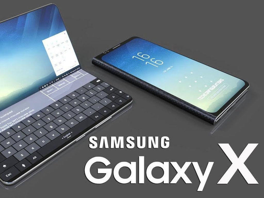 Samsung iki ekranlı smartfonun patentini aldı