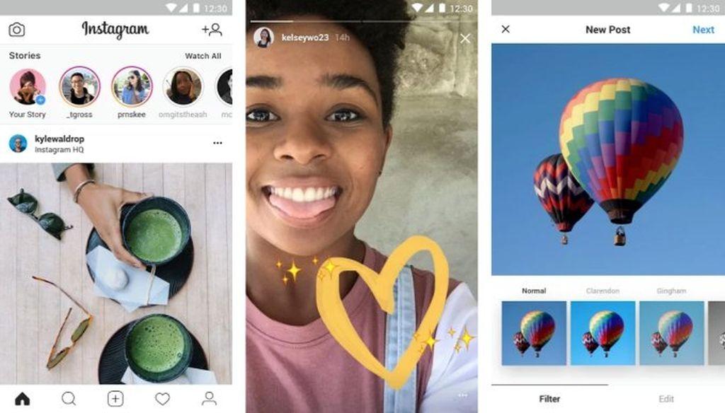 Android smartfonlar üçün Instagram'ın sadələşdirilmiş versiyası Instagram Lite təqdim olundu