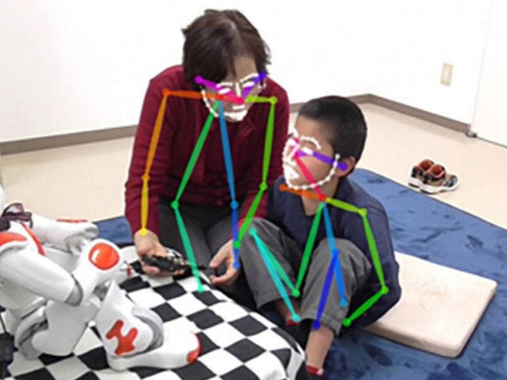 Neyroşəbəkə robotlara autizmə tutulan uşaqların davranışını anlamağa kömək edəcək