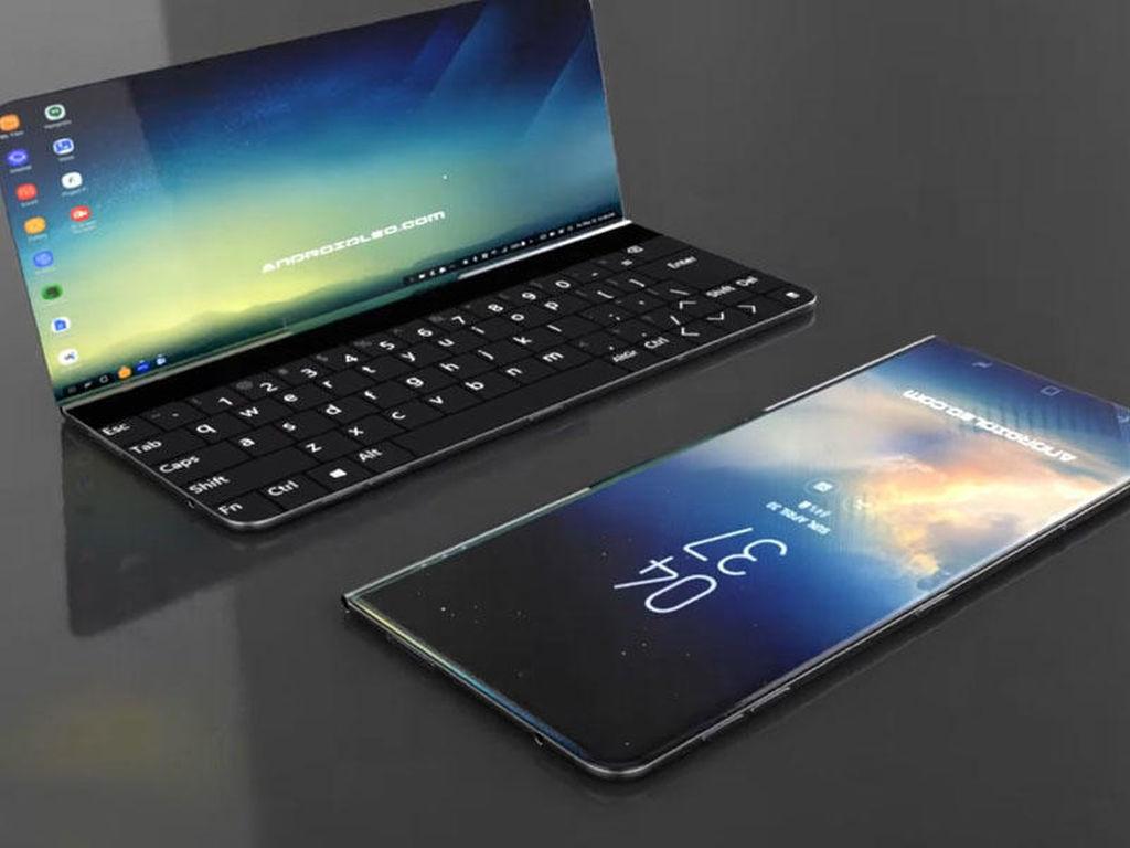 Samsung əyilə bilən batareyalar üzərində çalışır