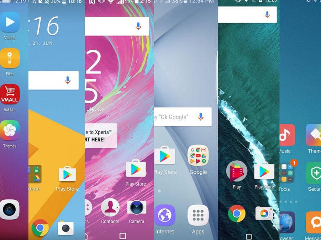 Android üçün olan 10 ən sürətli interfeys