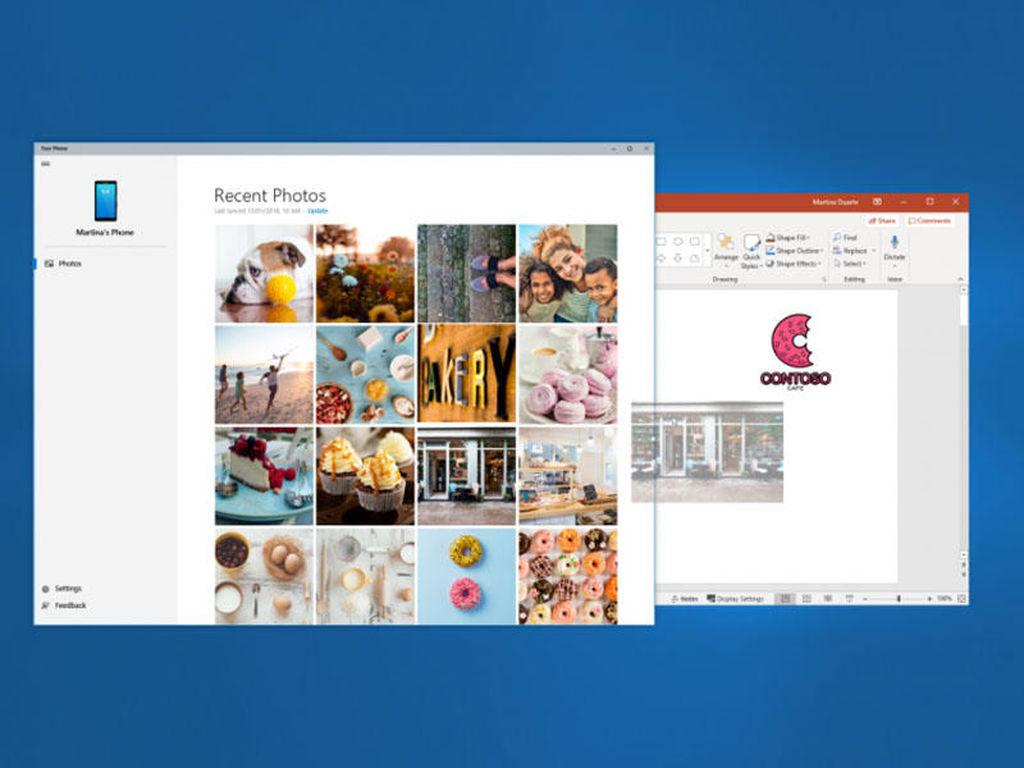 Windows üçün smartfon meneceri sınanır