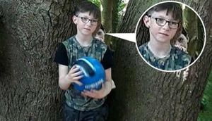 Parkda oğlunun şəklini çəkən ana sonradan FOTOYA baxanda ŞOK yaşadı